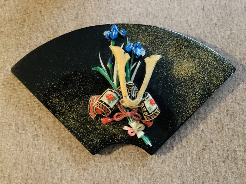 「兜と菖蒲」のシャドーボックス その2