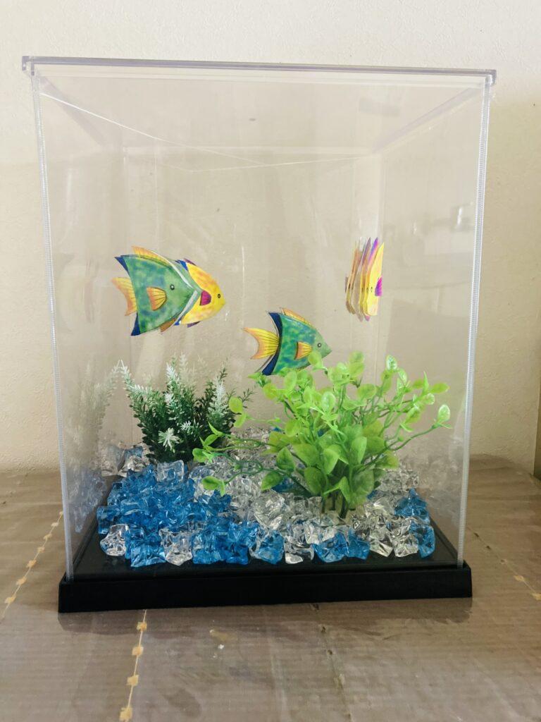 熱帯魚の3D作品